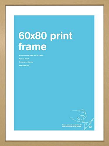 GB Eye LTD FMSBA1OK - Cornice di legno MDF, Beige, 60 x 80 cm