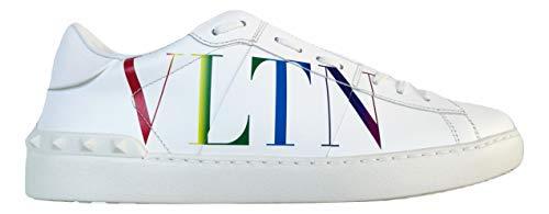 Valentino Garavani Scarpe Sneaker Open VLTN Uomo VY2S0830 08V Bianco Tg.43