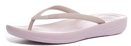 Fitflop Damen iqushion Ergonomic flip-Flops Zehentrenner, Pink (Mink 068), 39 EU