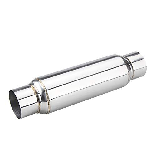 LCGP 3' Universal Resonator, Straight Through Performance Muffler, 16' Overall Length