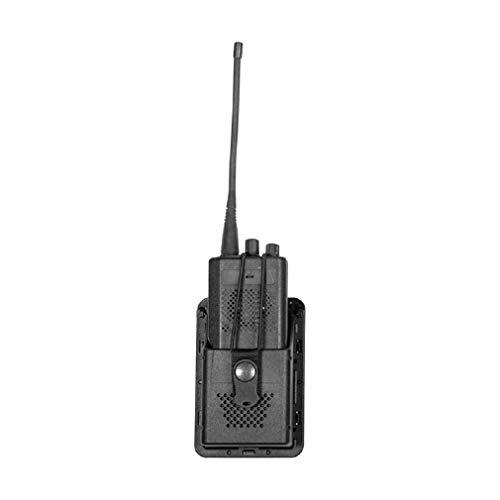 VEGA HOLSTER Porta Radio portaradio Militare Nero in polimero Stampato da Cintura