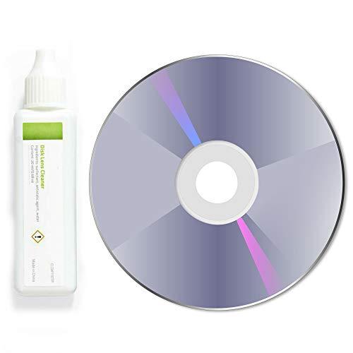 TronicXL Profi Reinigungsdvd Linsenreiniger Reinigungsdisc Reinigung Laser Reinigungs für DVD Player Blu-ray CD CD-RW Computer Laufwerk CD-ROM Laserreinigung linse Set Notebook Laptop TV Fernseher