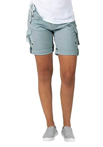 Timezone Damen Loose Katinkatz Shorts, Beige (Dove Grey 2030), W24(Herstellergröße:24)