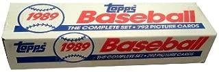 1989 Topps MLB Baseball Factory Set