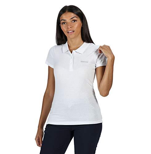 Regatta Womens Sinton Coolweave Cotton Active T ShirtsPolosVests White 14