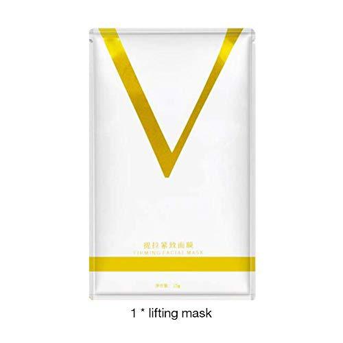 Masque V Line Lift Masque Double Menton Réducteur Forme V Lifting Visage Raffermissant Lifting Hydratant Patch Masque Oreille Suspendante