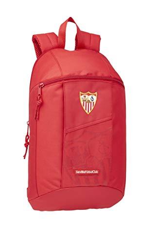 Mini Mochila de Sevilla FC Oficial de Uso Diario 220x100x390mm