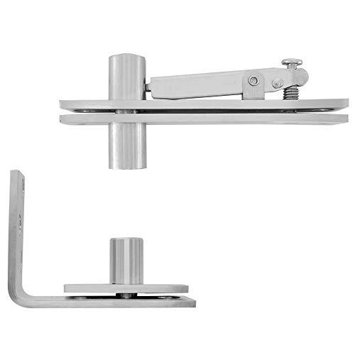 Alamic Door Pivot Hinges Heavy Duty Hinges for Doors Stainless Steel Pivot Door Hinge System