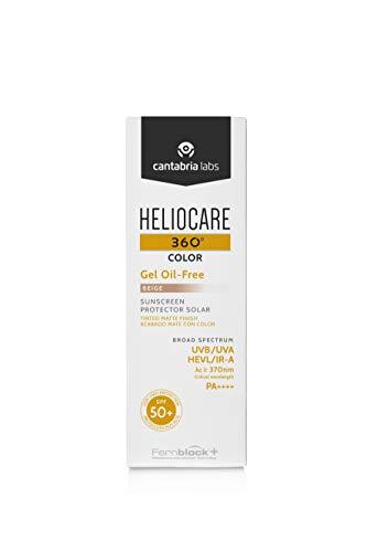 Heliocare 360 Gel-color Oil-free Spf50 Beige 50ml