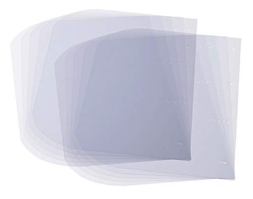 INFEKT-PROTECT SHIELD Ersatz-Visierfolien Art.-Nr. 932315AMA, Gesichtsschutz, Visierfolien, Wechselvisiere, Wechselfolien, 10er Pack