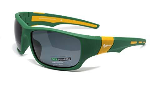 LePirate Walker Gafas de Sol polarizadas y fotocromáticas (Verde/Amarillo CAT3)