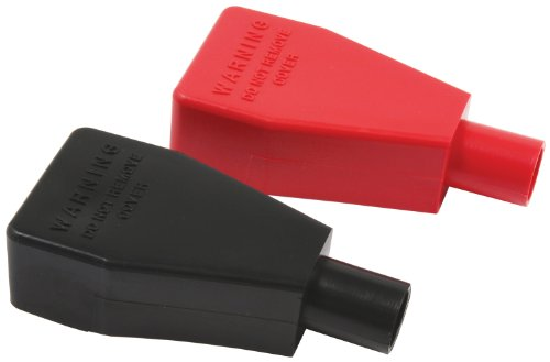 Allstar Performance ALL76150 Black and Red Plastic Top Post Style Battery Terminal Cover