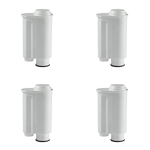 4 Filterpatronen für Kaffeevollautomaten von Saeco Philips Intenza, Lavazza Gaggia, Espresso A Modo Mio, Temial