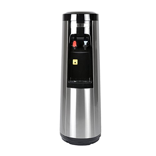 Stainless Steel Bottleless Water Cooler/Dispenser by Magic Mountain Water Products Water Pyramid Series (Dispenser Only, Rm-Temp & Cold)