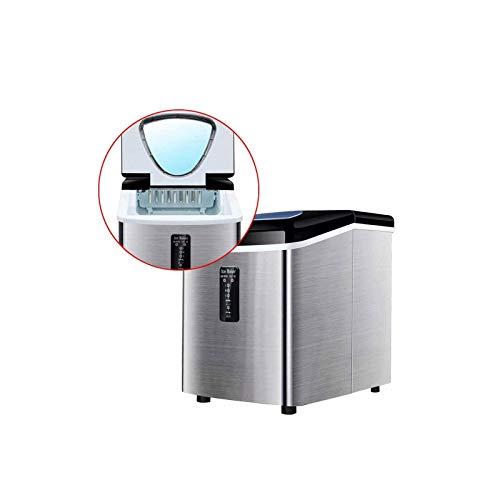 Ice Cube Maker Máquina de Hielo eléctrica automática, Mini máquina de Hacer Hielo Redonda de Bala, 18Kg / 24H Máquina de Hielo Inteligente para Bar, café, Leche, té, para el hogar, la Cocina