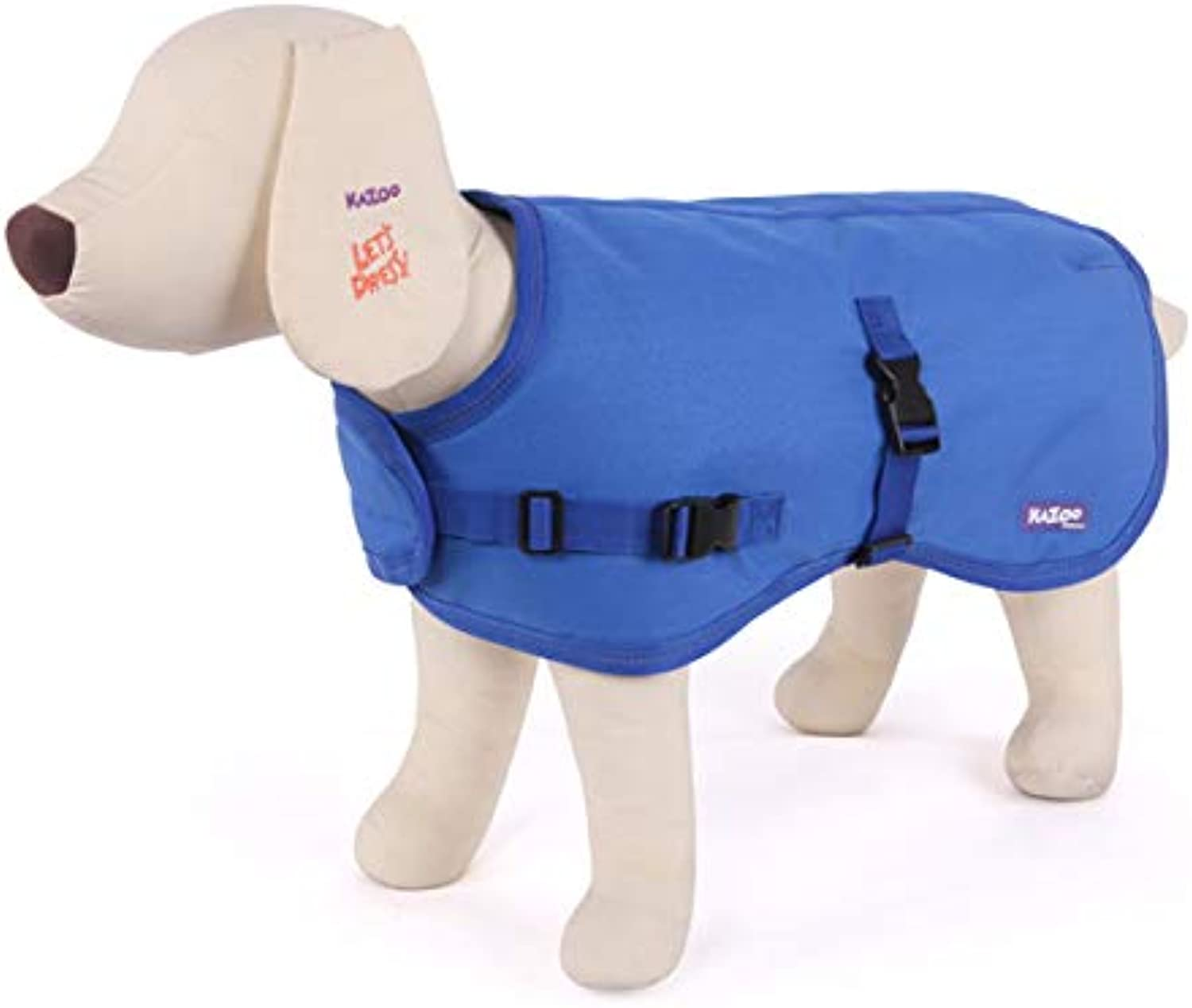Kazoo Reflective Dog Jacket Blue Extra Large
