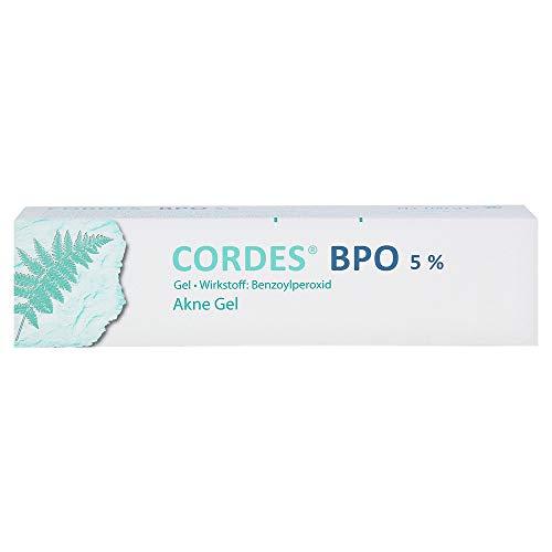 Cordes BPO 5% Akne Gel, 100 g Gel