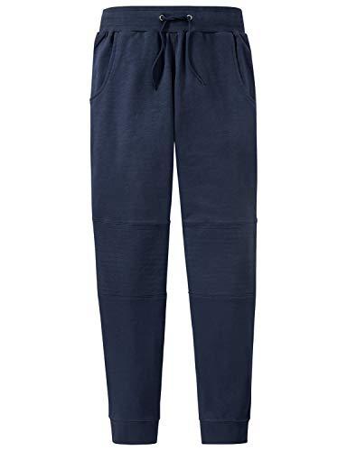 Schiesser Jungen Mix & Relax Sweatpants Schlafanzughose, Blau (Blau 800), 164 (Herstellergröße: M)