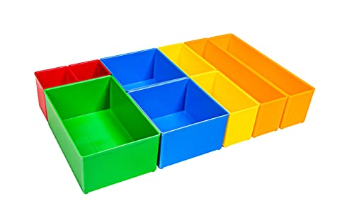 Bosch Sortimo ProClick H3 CT M 74 – Inserciones para bandeja de herramientas ProClick Tray – Cajas de clasificación para tornillos y piezas pequeñas