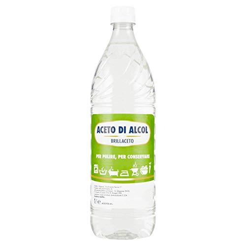 Brillaceto aceto di alcol per pulire e conservare - 6 pezzi da 1 litro [6 litri]