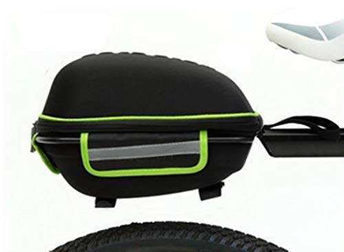 Miwaimao MTB bicicleta paquete trasero estante de liberación rápida paquete paquete paquete huevo paquete, verde oscuro