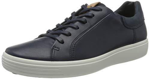 ECCO Herren Soft 7 Sneaker, Marine Marine Navy, 44.5 45 EU