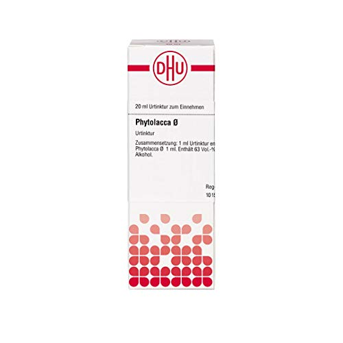 DHU Phytolacca Ø Urtinktur, 20 ml Lösung