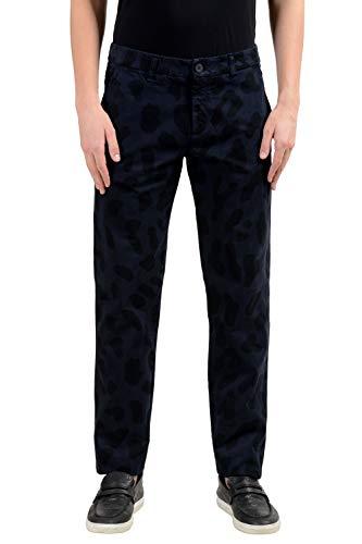 Versace Jeans - Pantalones para hombre (elásticos, ajustados, informales, EE.UU.) 32 IT 48