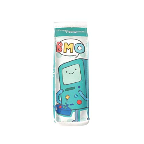 Adventure Time with BMO House Pencil Case, Milk Carton Pen Case, Waterproof PU Standing Pencil Holder and Stationery Organizer (Green)
