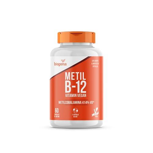Metil B-12 Vegan Vitamin Metilcobalamina 414%VD 60 Caps 400mg biogens