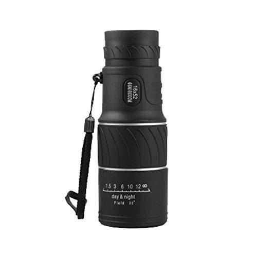 Teleskop 16x52 Monokular-Dual-Focus-Optik-Zoomteleskop, Tag- und Nachtsicht- [Upgrade] Wasserdichtes Monokular Erwachsene Kinder Geschenk Camping Spielzeug Außenteleskop Teleskop