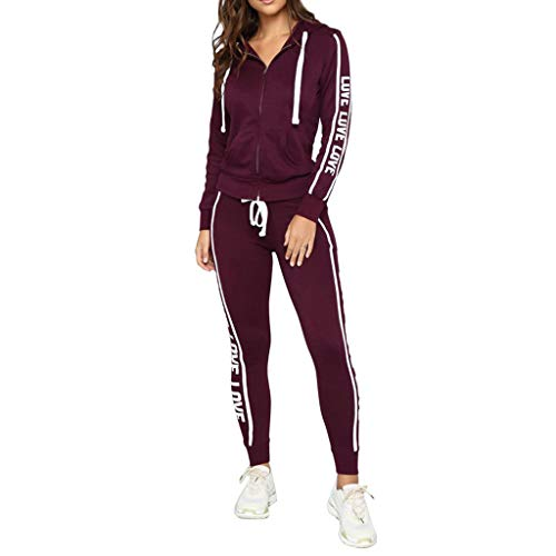LISTHA Zipper Sweatshirt Coat Pants Suit Women Pullover Sport Trouser Outfits