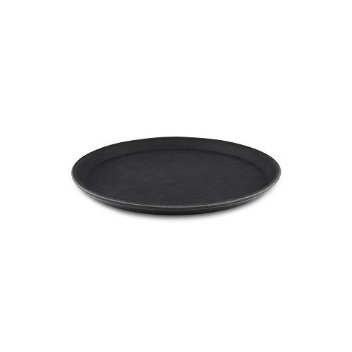 Grunwerg PN-1100 Essenstablett, Kunststoff, schwarz, 11