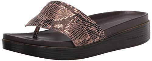 Donald J Pliner Women's Sandal, Natural, 5.5