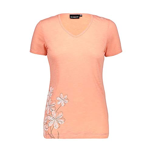 CMP T-shirt pour femme Orange 40 rose