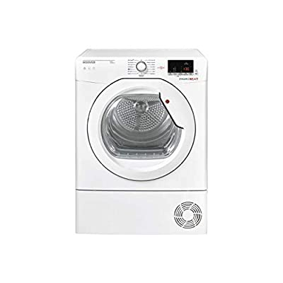 Hoover DXC10DG-80 10kg Freestanding Condenser Tumble Dryer - White