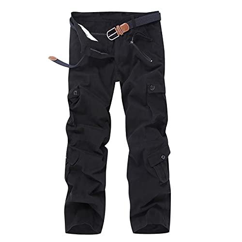 2021 Nuevo Pantalones para Hombre Casual Moda Talla grande trabajo pantalones Pants Jogging Pantalon Multibolsillos Fitness Chandal Hombre Largos Pantalones Ropa de hombre Pantalones de Trekking