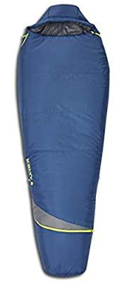 Kelty Tuck 22F Degree Mummy Sleeping Bag – 3 Season Ultralight Sleeping Bag with Thermal Pocket Hood, Zippered Opening in Footbox. Lightweight Traveling Backpacking Tent/Hammock Camping Sleep System – Stuff Sack Included