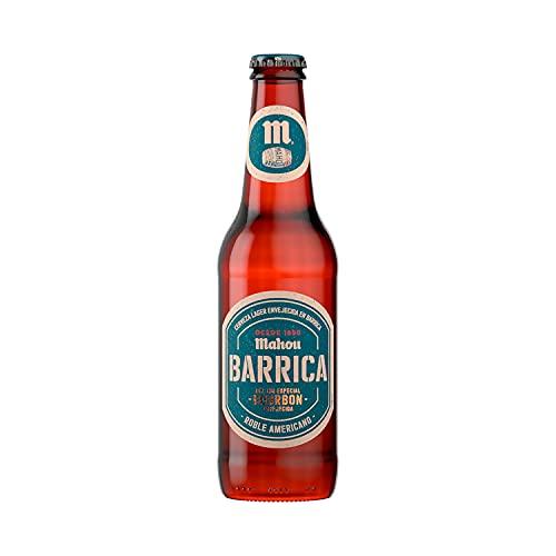 Mahou Barrica Cerveza Envejecida Edición Especial Envejecida Bourbon - 1 Botellín x 33 cl - 6,9%...