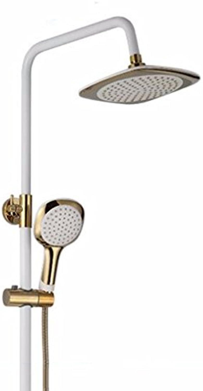 CJSHV-Verstellbare Dusche Aufhebung Rod Dusche Hat Sieben Worte,E