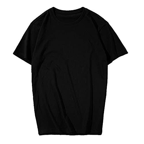 N\P Camiseta de algodón de verano para hombre