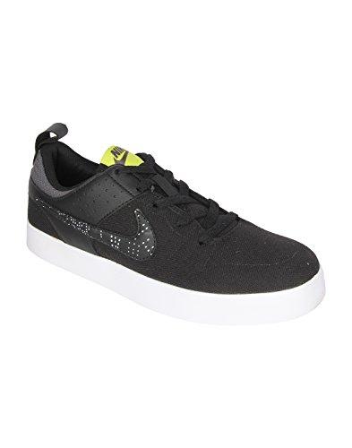 Nike Men's Liteforce III Mid Dark Grey/Bright Cactus - Black-White Casual Shoes - 10