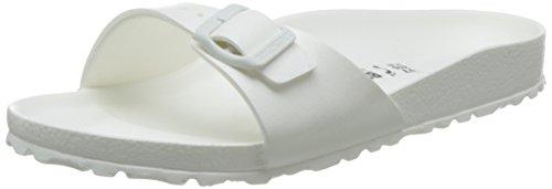 Birkenstock Madrid EVA, Damen Pantoletten, Weiß (White), 41 EU thumbnail