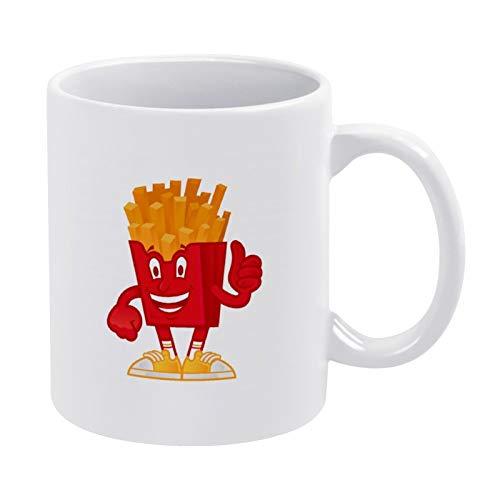 Coffee Mug Delicious American French Fries White Mug - Mug Gift - Best gift for Friend 11ounce Ceramic Mug