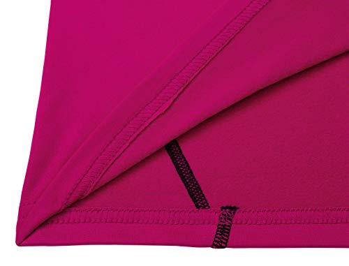 TCA SuperThermal Baselayer Damen Laufshirt/Funktionsshirt – Langarm –Beere, XS - 4