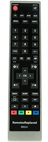 RemotesReplaced Ersatzfernbedienung kompatibel mit TELEFUNKEN D39F275N3C