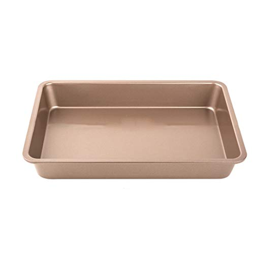 Oven pan non-stick baking sheet cake pan shopper and industrial baked dessert tray carbon metal thermal conductivity ruggedized Easy launch