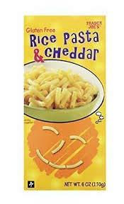 Trader Joe's Gluten Free Rice Pasta & Cheddar 6 oz (Case of 6)