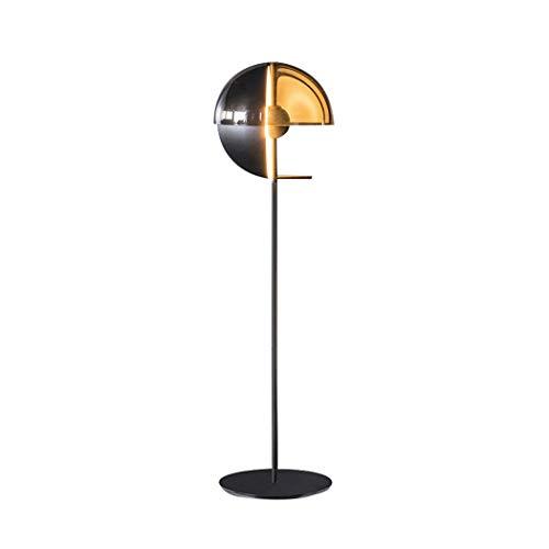 ACwhisper Lámpara de pie LED moderna creativa sala de estar lámpara de pie estudio dormitorio diseño lámpara de pie