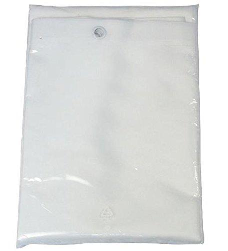 Galedo - Rideau de douche textile 200 x 120 cm